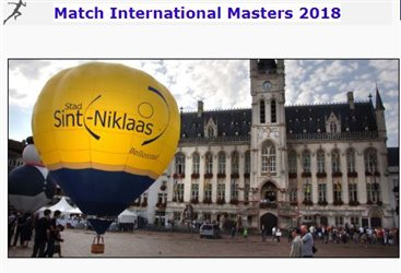Match international masters 2018